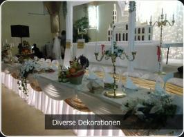 Diverse Deko